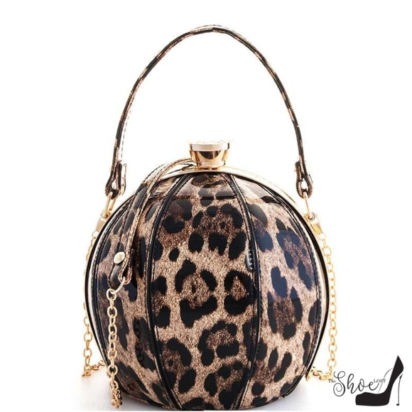 My Bag Lady Online Handbags - Ball Leopard Handbag